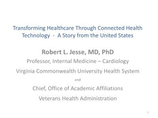 Telehealth Services for better information, better Decisions and better Health