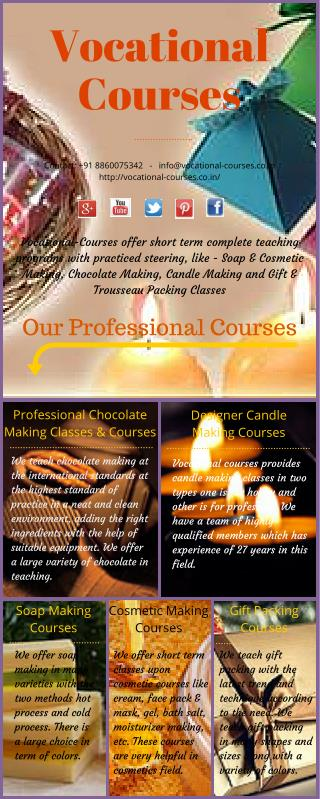 Professional Chocolate Making Classes At Vocational Courses