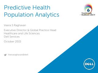 Predictive Health Population Analytics