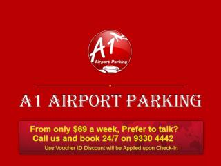 Secure long and short term parking for Melbourne Airport
