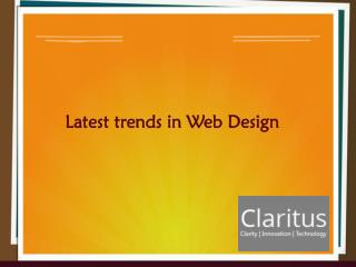 6 Web Design Trends You Must Know