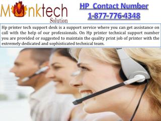 HP Contact Number 1-877-776-4348