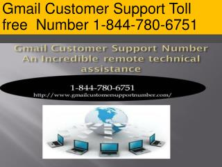 Gmail Technical Support Number - 1-844-780-6751 | Password Recovery