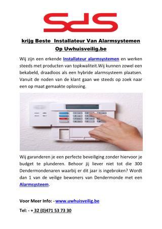 krijg Beste  Installateur Van Alarmsystemen Op Uwhuisveilig.be