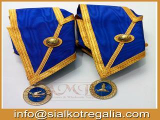 Masonic Craft provincial full dress collar with jewels