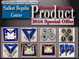 Masonic Craft Provincial full dress apron