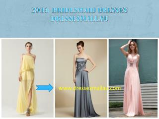 2016 bridesmaid dresses Dressesmallau