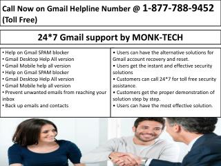 Wide Range Customer Service- Gmail Support Number 1-877-788-9452