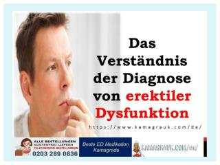 Das Verständnis der Diagnose von erektiler Dysfunktion