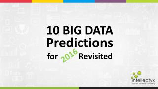 10 Big Data Predictions for 2016