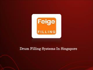 Drum Filling Singapore