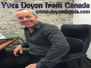 Yves Doyon from Canada