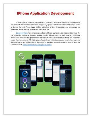 ios game development company | iPhone game development services - Devlon Infotech