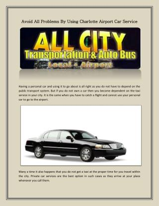 Taxi Charlotte airport service