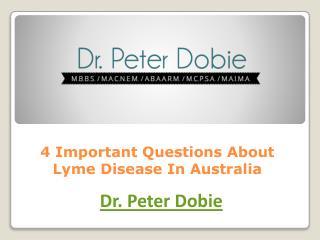 Lyme disease in Australia, Lyme disease, Lyme disease specialist Sydney
