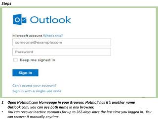 How To Reset Hotmail Password with The Help of Hotmail Helpline Support
