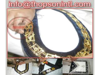 Masonic Past Master chain collar