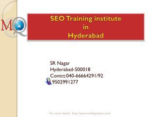 SEO Training institute in Hyderabad