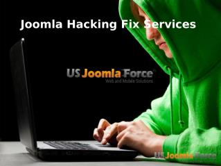Joomla Hacking fix service - US Joomla Force