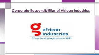 African Industries Group one of the best steel leading company of Nigeria