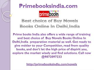 Best choice of Buy Novels Books Online In Delhi,India