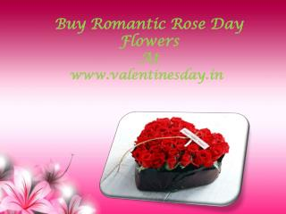 Buy Romantic Rose Day Flowers at Attractive Price!!