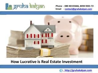 How Lucrative is Real Estate Investment