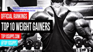 Top 10 Mass Gainers - Best Weight Gainer of 2016
