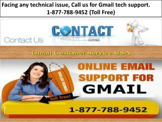 Google Gmail Customer Care Help  Number : 1-877-788-9452