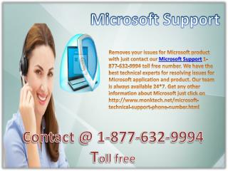 Microsoft support number !!#!! 1-877-632-9994 toll free