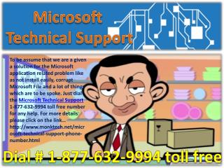 Microsoft technical support ~!!!~ 1-877-632-9994 toll free number