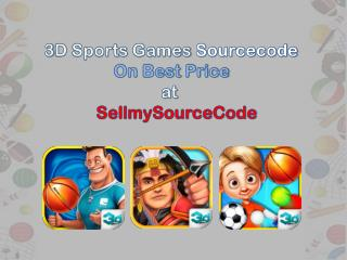 3D Sports Games Sourcecodes on Beat Price at Sellmysourcecod