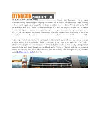 Civil Contractors in Noida