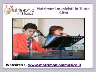 Aggiungi un fascino nella vostra cerimonia con Musicisti per matrimoni