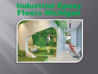 Industrial Epoxy Floors Michigan