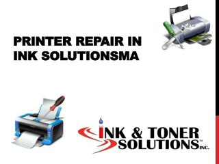 Printer Repair In ink solutionsma