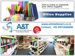 Get up to 10% off on wholesale stationery items
