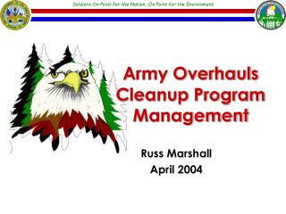 Army Overhauls Cleanup Program Management