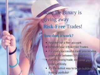 Banc De Binary New Promotion