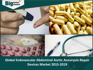 Endovascular Abdominal Aortic Aneurysm Repair Devices Market  Research Report 2019