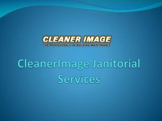 CleanerImage Janitorial Services