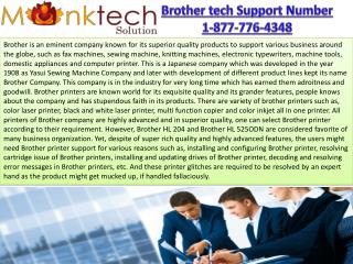 Brother Tech Support Number Toll free