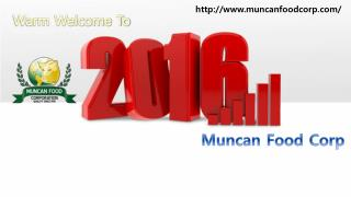 A warm welcome to 2016! -  Muncan Food Corp