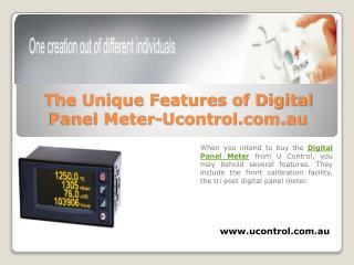 The Unique Features of Digital Panel Meter-Ucontrol.com.au