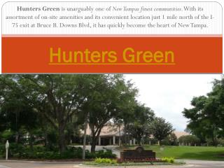 Hunters Green Tampa