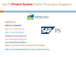 sap ps online training  in usa,uk