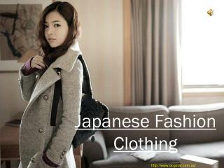 Japanese Fashion Clothing