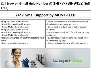 1-877-788-9452 Gmail Password Recovery For Password Recovery