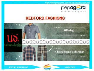 Redford Fashions - Designer Shirt, Mens Wear, Manufacturer and  Trading Company-www.pepagora.com