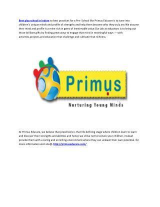 We are Primus Educare